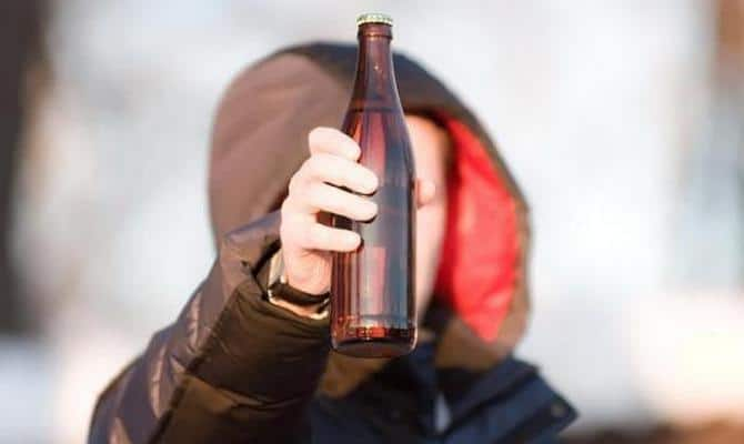 Продажа алкоголя детям