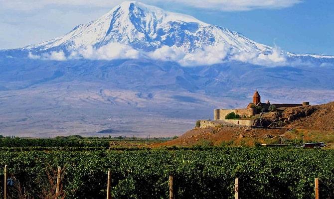 Плодородные почвы Армении