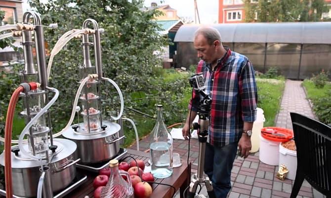 Автоматизированная система для производства самогона