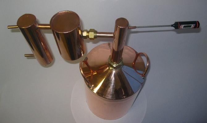 Дистиллятор самогона из меди