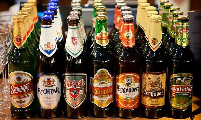Чешское пиво на Российском рынке спиртного