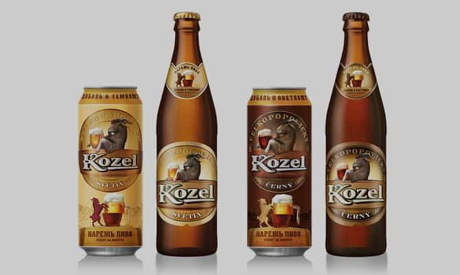 Напиток «Velkopopovický Kozel»