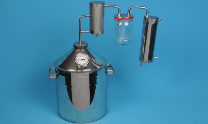 Бытовой агрегат для очистки самогона