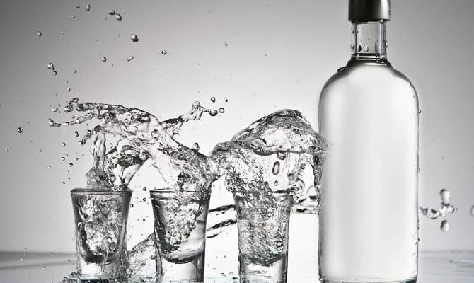 Двойная очистка алкоголя – выполнение процедуры