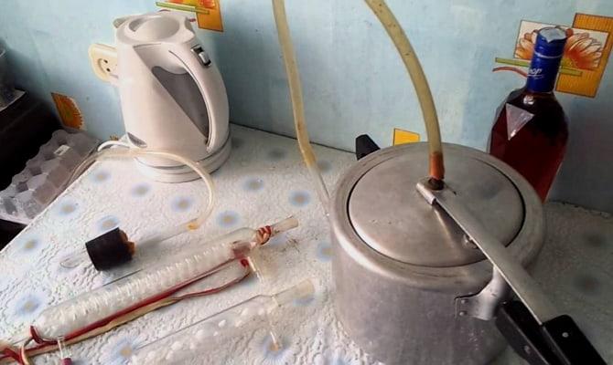 Изготовление компактного дистиллятора