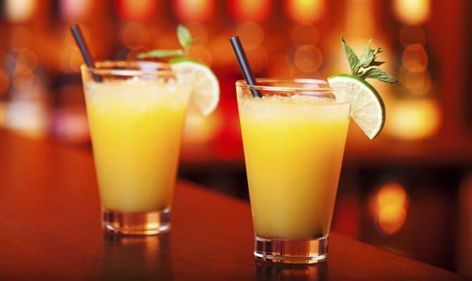 Несколько коктейлей с кедровой водкой