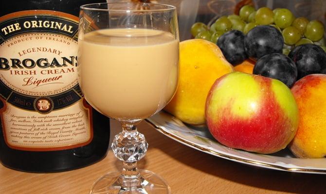 С чем пить сливочный ликер
