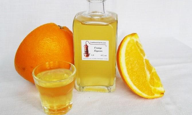 Как сделать ликер из апельсинов?