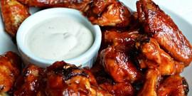 Рецепты закусок: острые куриные крылышки к пиву