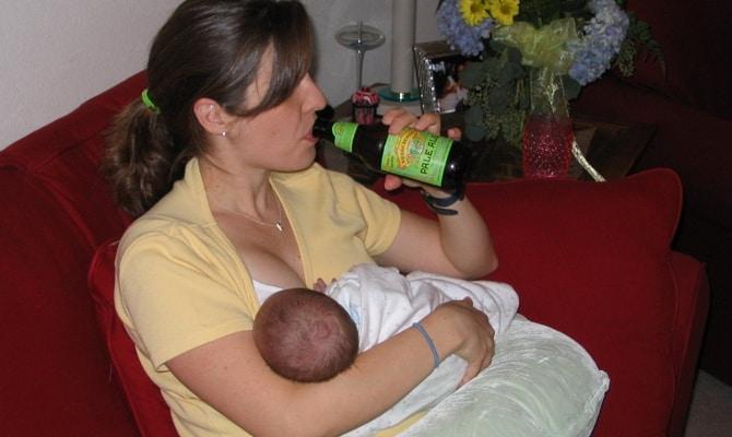 Так пить мамам пиво или не пить