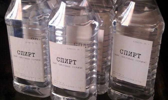 Какой спирт подойдет?
