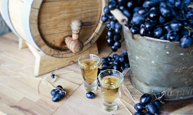 История виноградного алкоголя