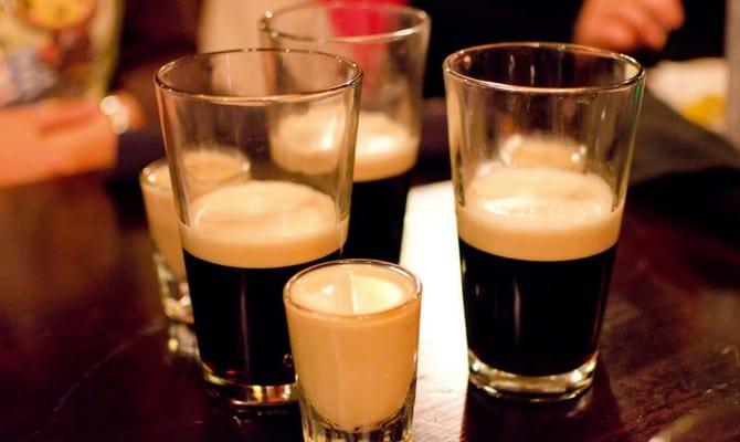 Коктейли с пивом Гиннесс