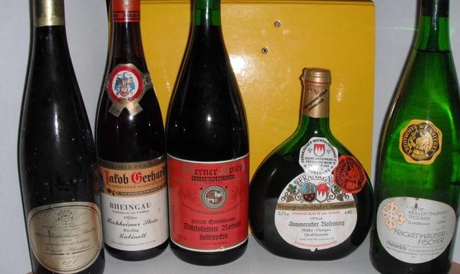 Разнообразие немецких вин