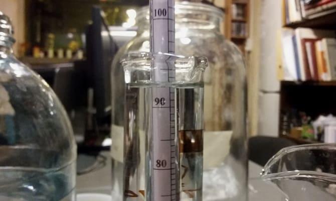 Процесс приготовления водки