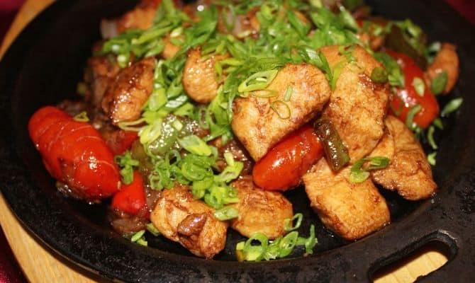 Как готовить соте из курицы (курица в соте)