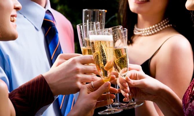 Как и когда пить шампанское?
