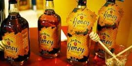 Американский бурбон jim beam honey