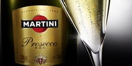 Итальянское игристое вино «Мартини»