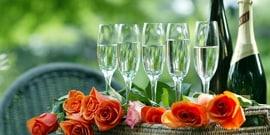 Что лучше подать к шампанскому?