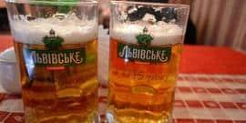Оригинальное пиво «Львовское»