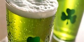 Где выпускают зеленое пиво?