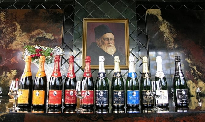 История крымского шампанского