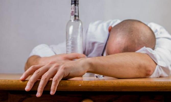 Вред водки