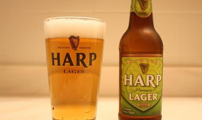 Почему появился напиток под названием Harp Lager?