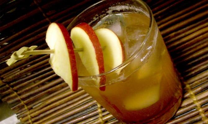 Рецепт виски с яблоком