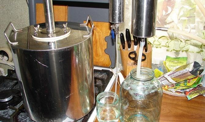 Очищение водки домашнего изготовления