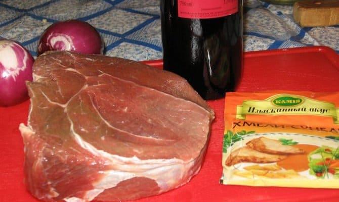 Способы приготовления свиного мяса с вином