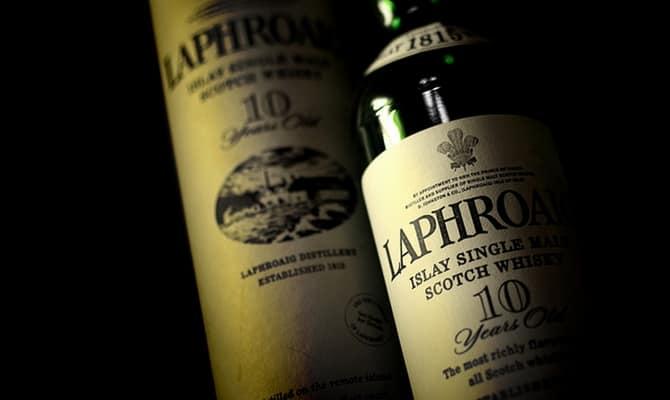 Виски Laphroaig в настоящее время