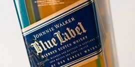 Виски «Джонни Уокер Блю Лейбл»