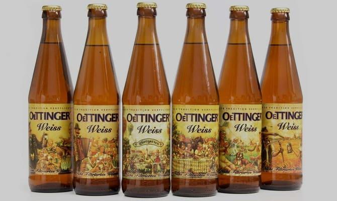 История напитка «Oettinger weiss»