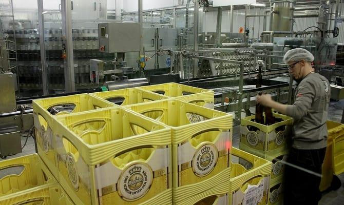 Изготовление пива «Warsteiner»