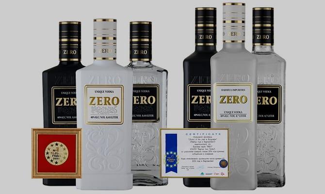 Описание внешнего вида водки и вкуса