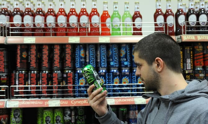 Энергетики – запретные напитки для Москвы и регионов