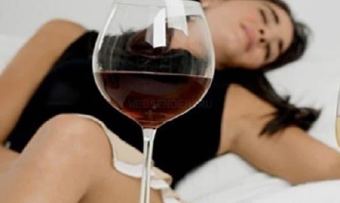 Что происходит при одновременном приеме капель и спиртного?