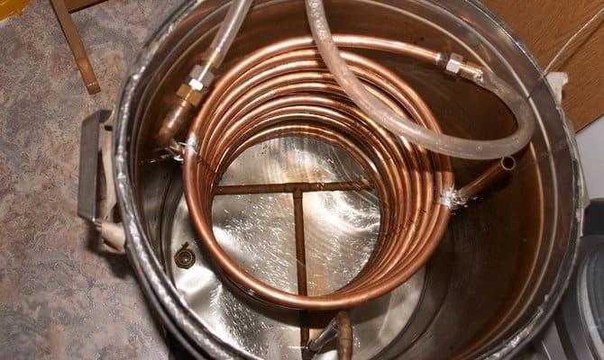Змеевик для дистиллятора – особенности собственноручного изготовления